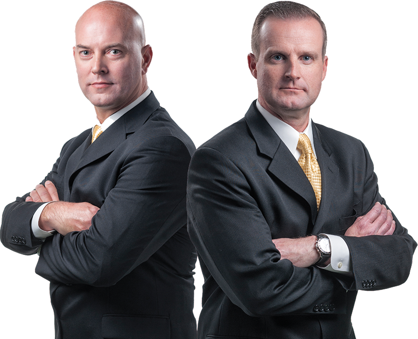 Attorneys James Kennamer and Brent Burks