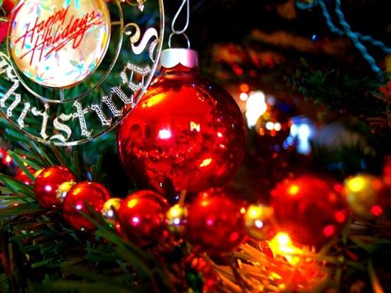 Christmas tree with decoration CU
