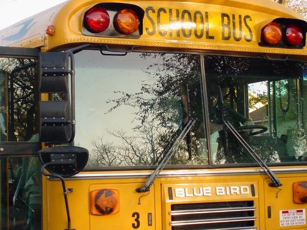 School bus CU