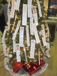 An angel tree in Chattanooga