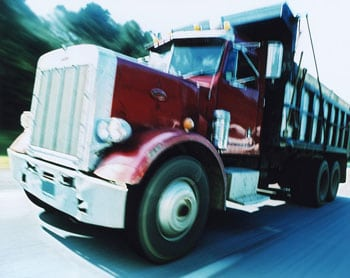 Dump Truck accident Tennessee