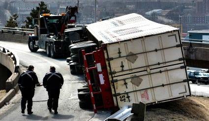 Semi truck crash shuts down interstate