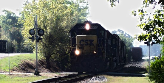 Recent train accidents in Chattanooga
