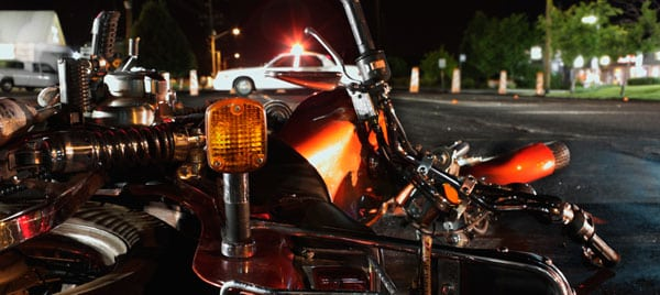 Motorcycle wreck in Chattanooga