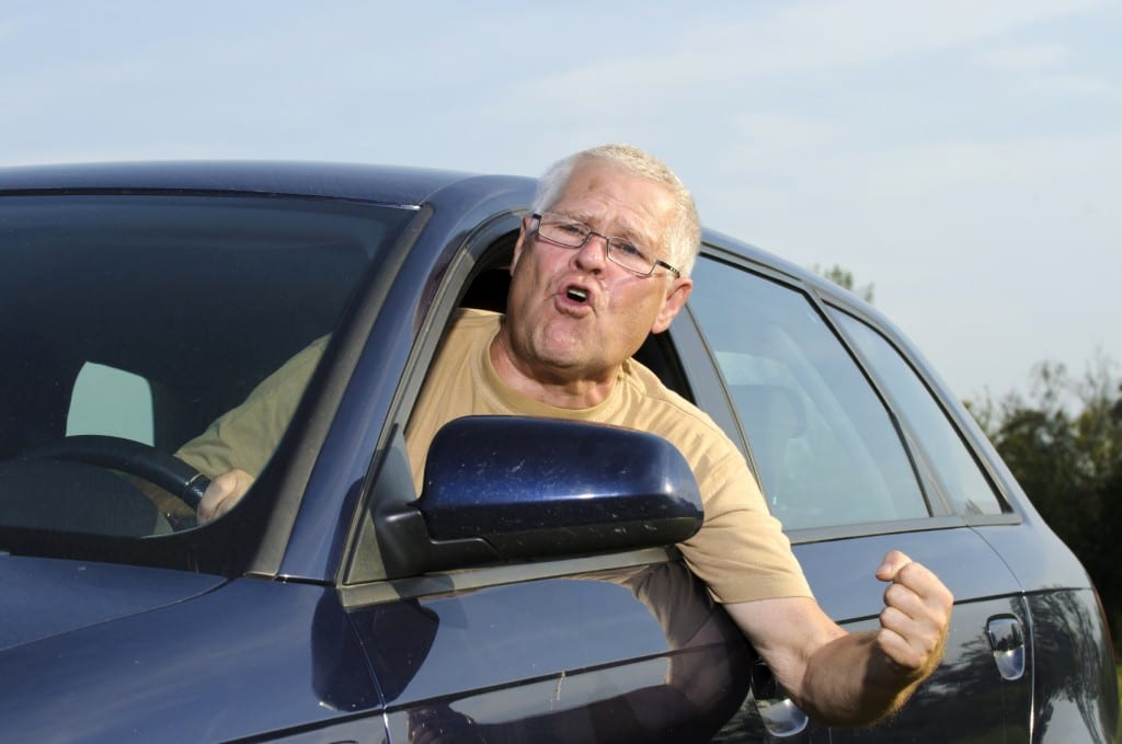 Old Man Road Rage