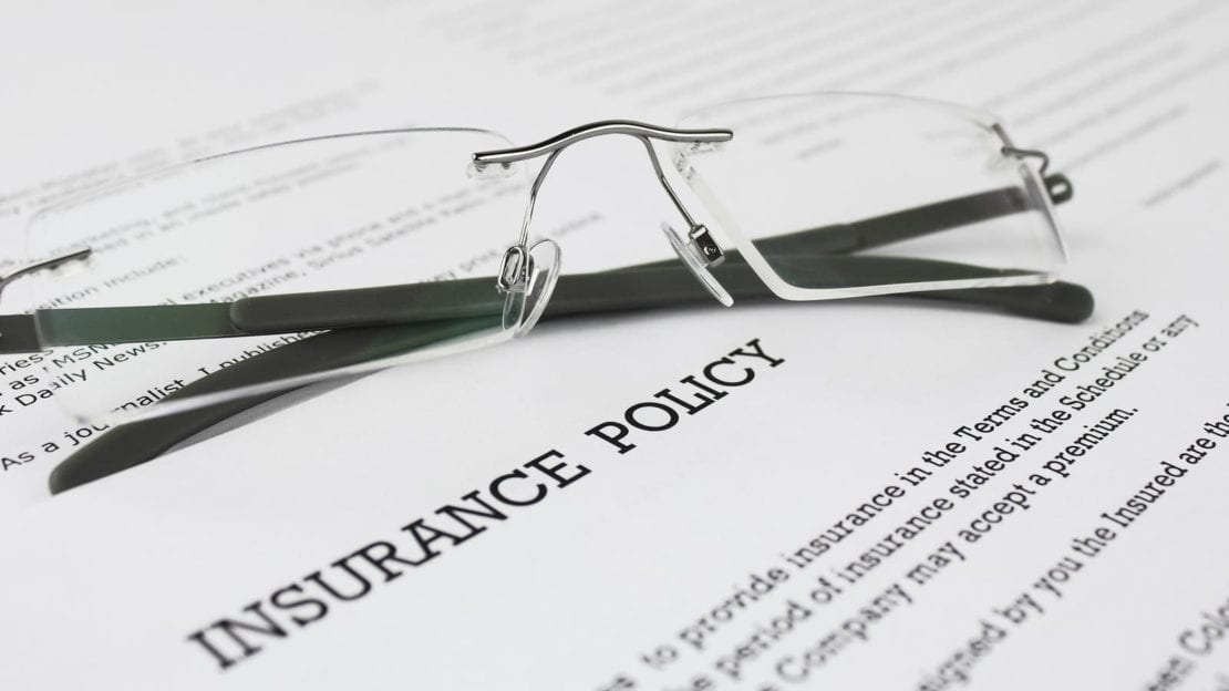 Stock Photo of an Insurance Policy Form