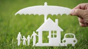 Small Home Cutout Stock Photo