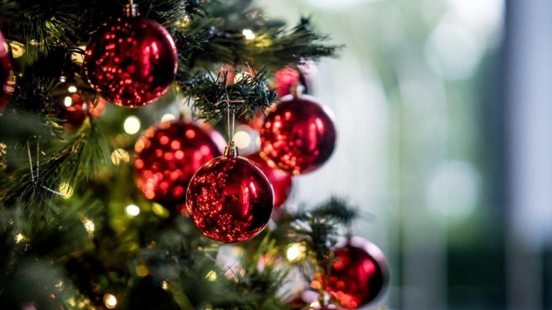 Beautiful Christmas Tree Stock Photo