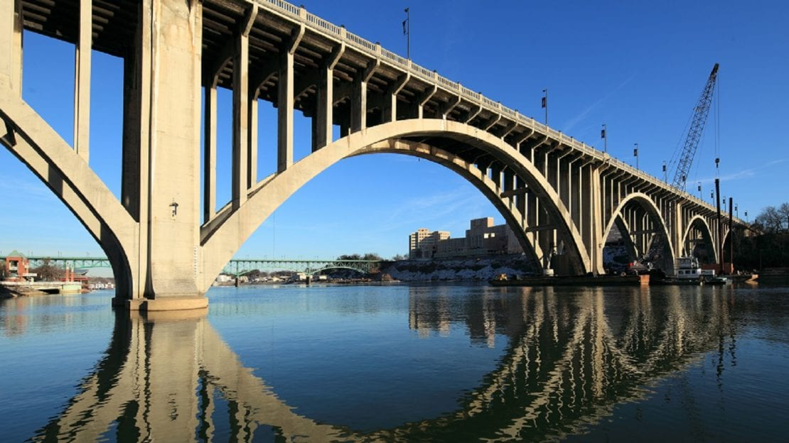 Henley Street Bridge - Knoxville, Tennessee