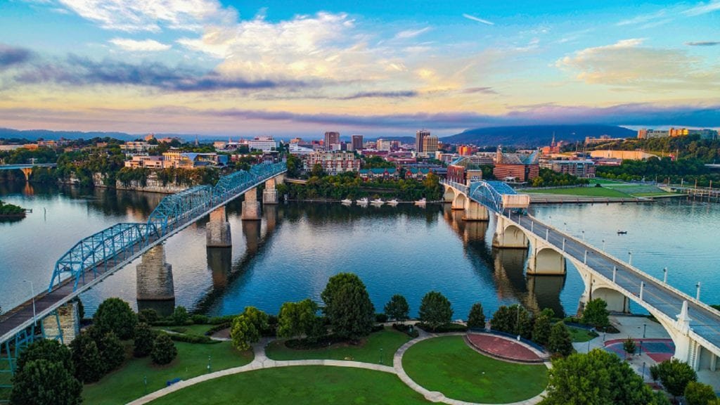 Downtown Chattanooga, Tennessee
