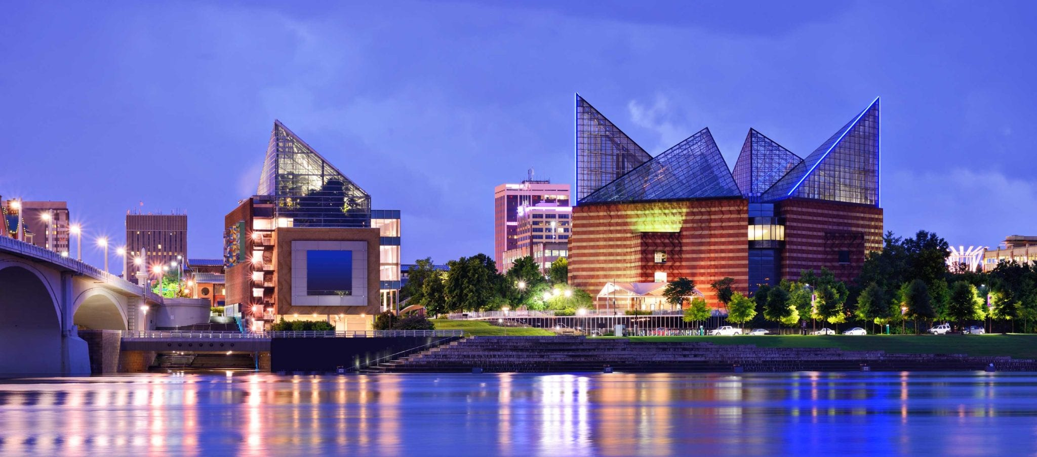 Downtown Chattanooga, Tennessee Skyline