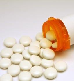 Spilled Topamax Pill Bottle