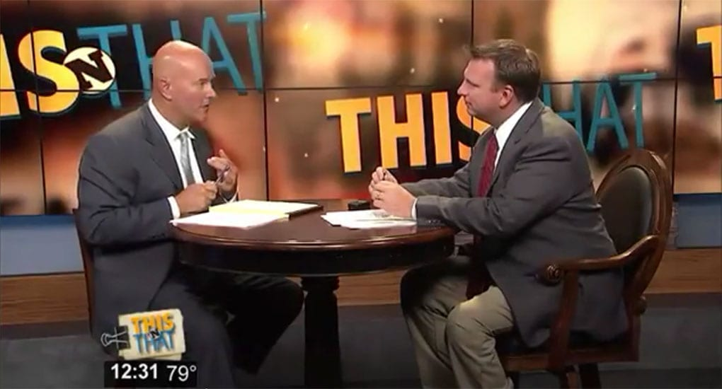 """Chattanooga Injury Lawyer James Kennamer On """"This & That"""""""